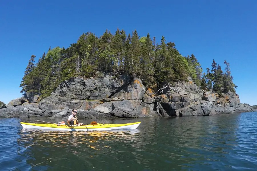 Kayaking in the Bay of Fundy - Day trips from Saint John