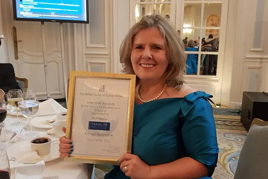 From battling dyslexia to a British Guild of Travel Writers' Award