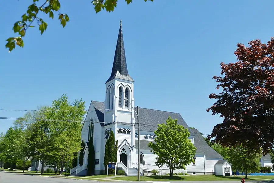 St Andrews' Catholic Church, King Street, St Andrews, New Brunswick, Canada