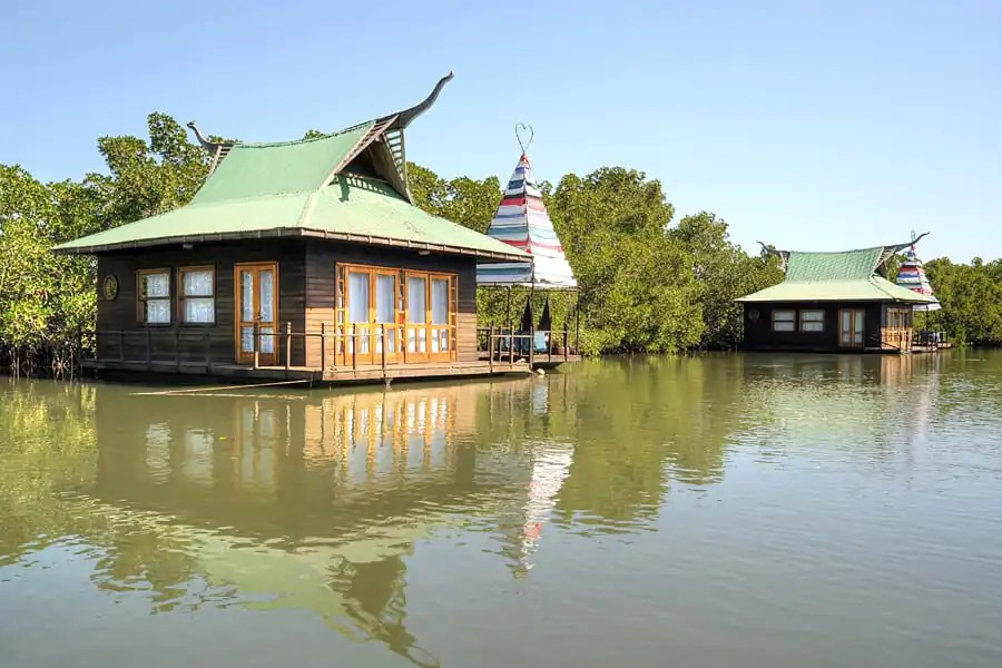 Mandina Floating River Lodges, The Gambia - honeymoon in West Africa