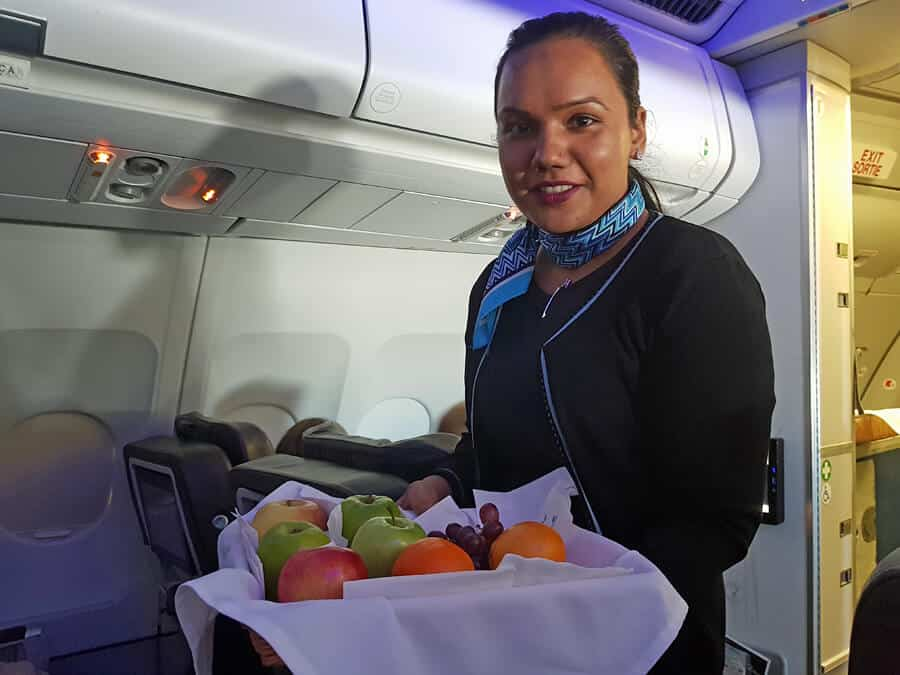 Air Transat Club Class - the best flights to Canda