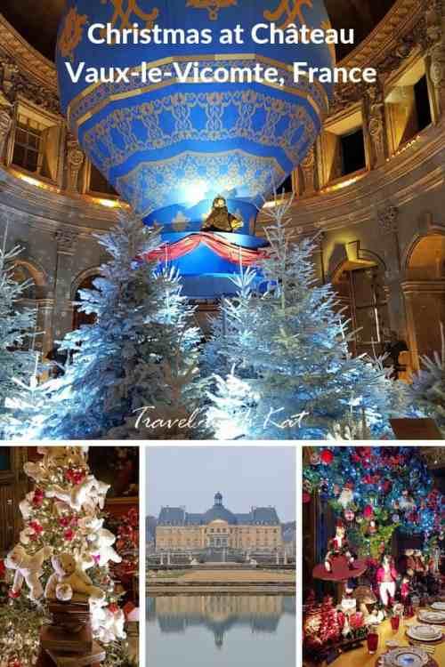 Christmas at Château Vaux-le-Vicomte,# France | A fabulous day out from #Paris