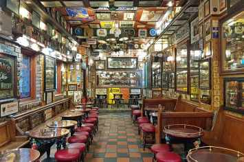 The Duke of York, Cathedral Quarter, one of the best pubs in Belfast, Northern Ireland