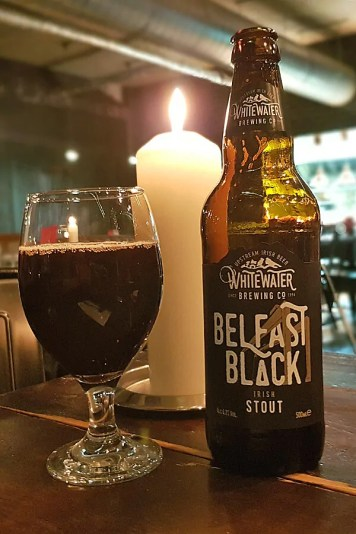 Belfast Black Stout from the Whitewater Brewing Company
