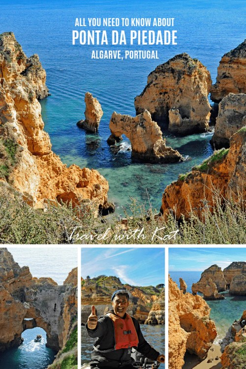 All you need to know about Ponta da Piedade, one of the most beautiful coastlines in the world #PontaDaPiedade #Algarve #Portugal