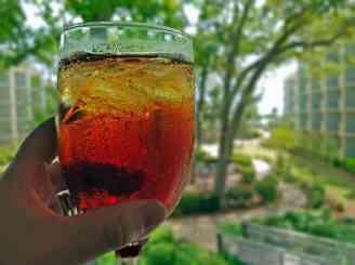 Iced tea at the Omni Hilton Head Oceanfront Resort.