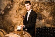 Barrel tasting of a white Burgundy!