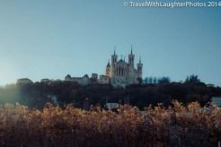 Our destination- Basilica of Notre-Dame de Fourvière