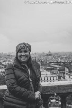 Paris as the back drop!