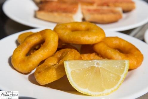 Yummy calamari!