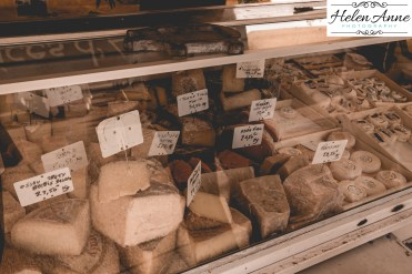 Miss the yummy cheeses!