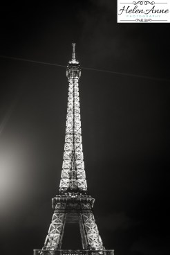 Eiffel is beautiful at night!