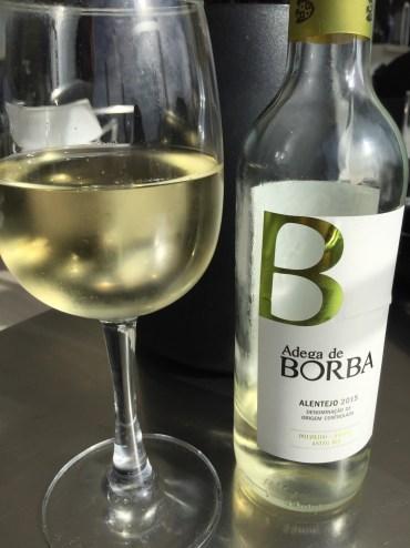 White wine and the beach!