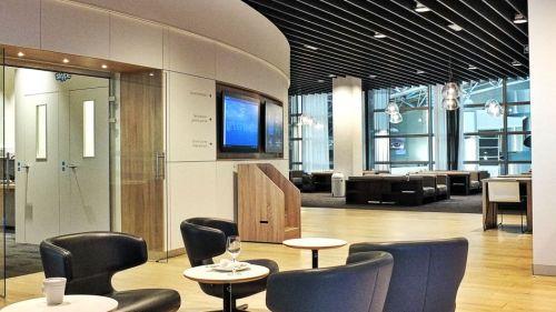 Brussels Airlines Lounge The Loft Flughafen Brüssel-Zaventem Relaxbereich