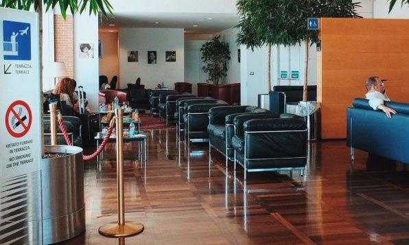 Marco Polo Club Lounge Venedig Sitzgelegenheiten