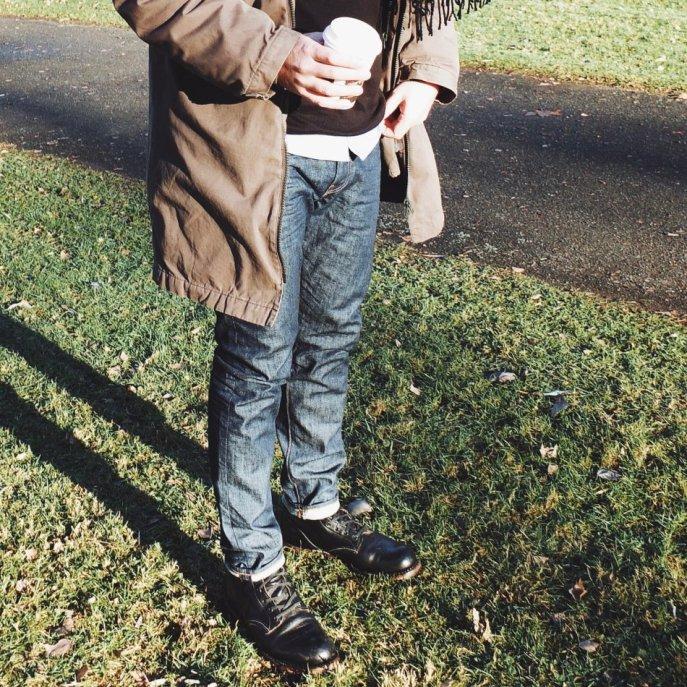 Jeans - Levis 512 Die perfkte Skinny Tapered Jeans