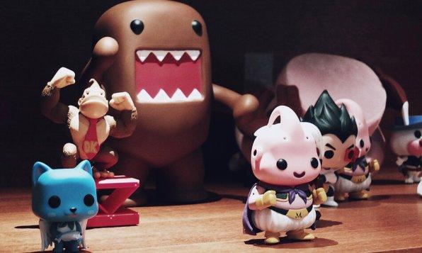 Review Me and All Düsseldorf japanische Comicfiguren Deko
