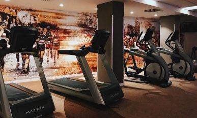 Review Lindner Hotel City Plaza Köln Fitnessbereich Gym