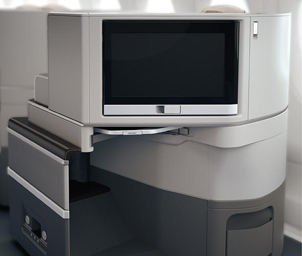 neue TAP Business Class Airbus A330-900neo Sitz Recaro Bildschirm