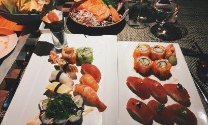 Review JA Manafaru Maldives Sushi Dinner