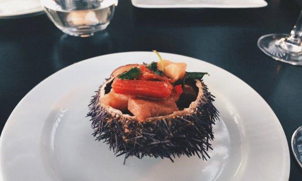 Farol Hotel Cascais Portugal Restaurant Starter Sushi Design