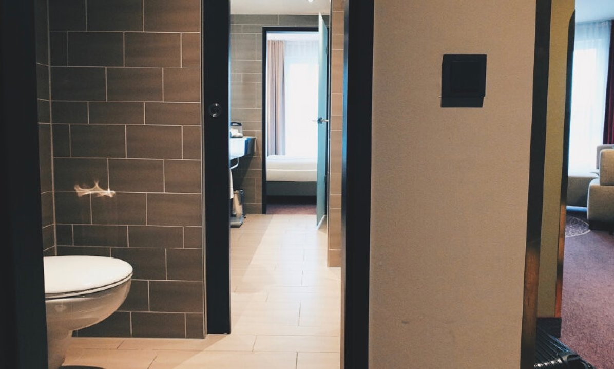 Review Steigenberger Parkhotel Braunschweig Flur und WC