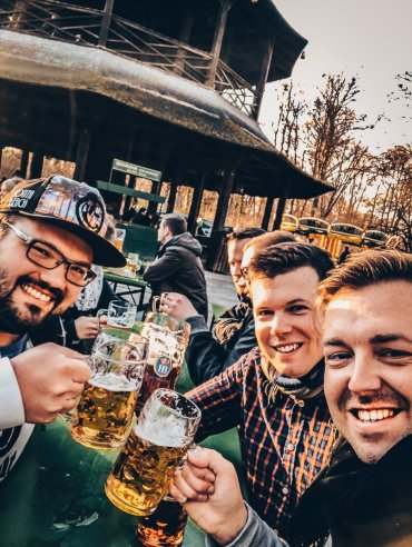 BiergartenMünchen Jahreswechsel Sunday Hangover #1 2018