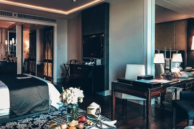 Hotel Review St. Regis Review St. Regis Bangkok Deluxe Room
