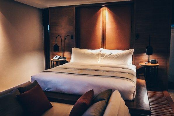 Review The Ritz-Carlton Koh Samui Schlafzimmer Pool Villa Ausblick