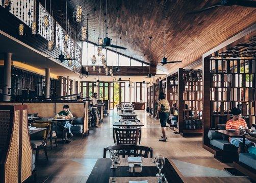 Review The Ritz-Carlton Koh Samui Restaurant Frühstück