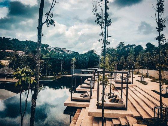 Review The Ritz-Carlton Koh Samui Spa Pool