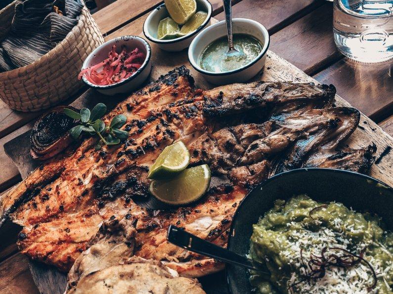 Review Four Seasons Mexico City Lunch Zanaya Restaurant Zarandaedo Fish