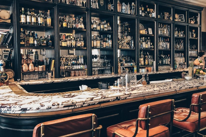 Review Four Seasons Mexico City Bar Fifty Mills