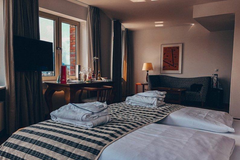 First Class Doppelzimmer Lindner Hotel Main Plaza Frankfurt