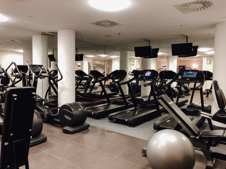Review Marriott Leipzig Hotel Fitness Gym