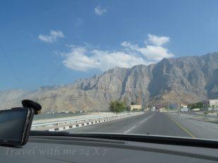driving to Khasab
