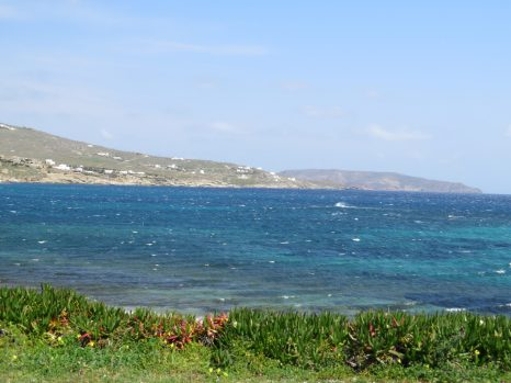 Blue waters of Agean