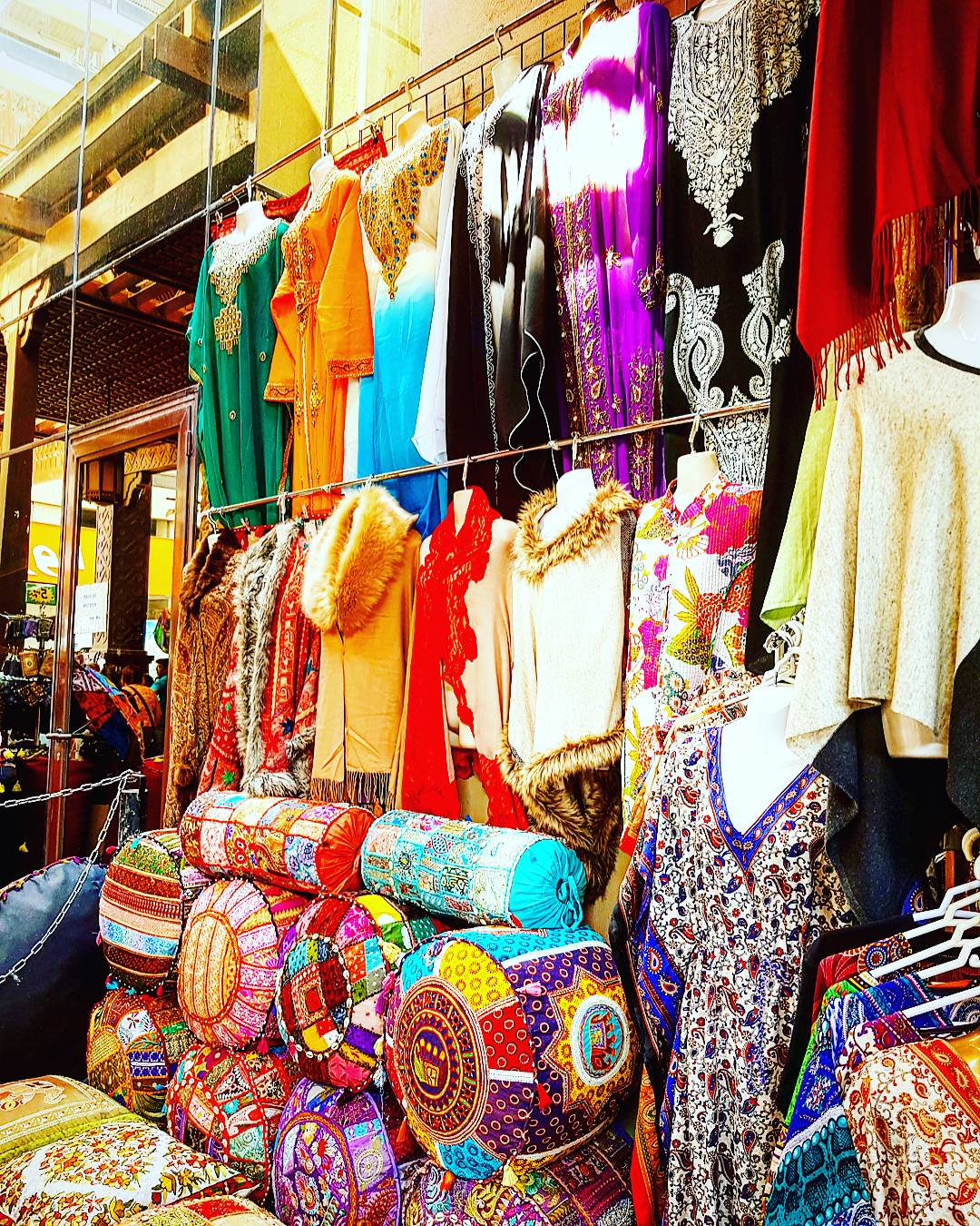 Textile shopping