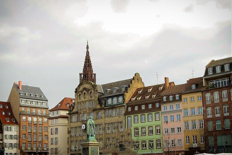 Visit to Strasbourg from Paris