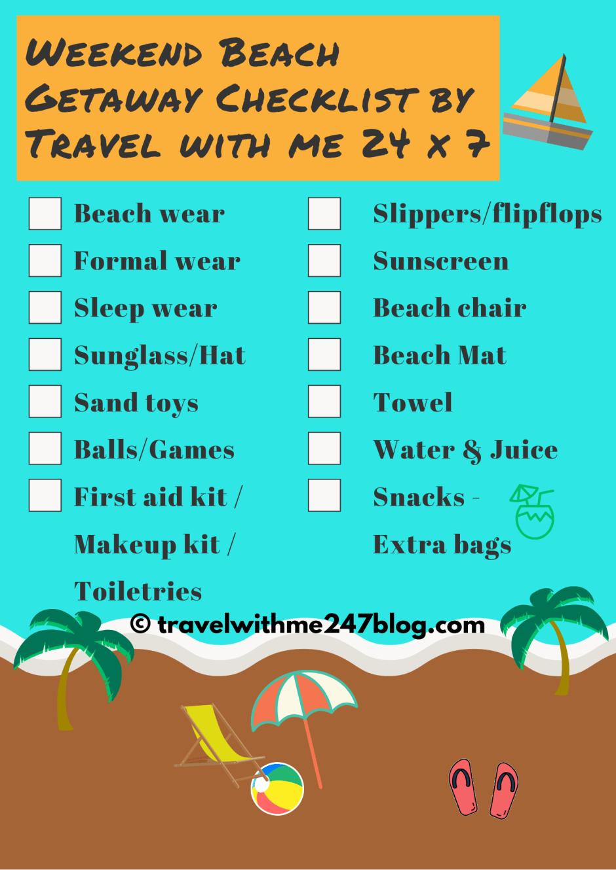Beach Essentials Checklist for JBR Beach Dubai