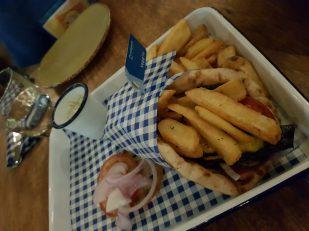 Our Order at Eat Greek Kouzina