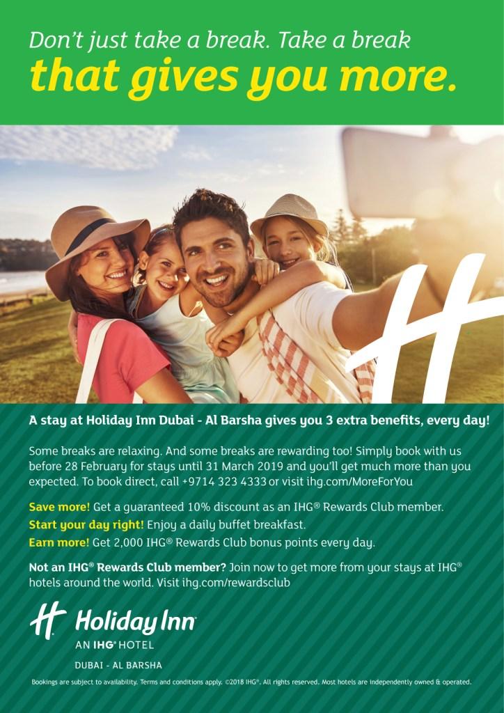 Reviews of Holiday Inn Al Barsha Dubai