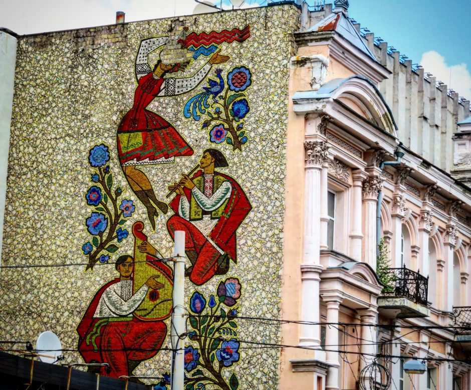 Kiev Murals Street Art Walking Tour