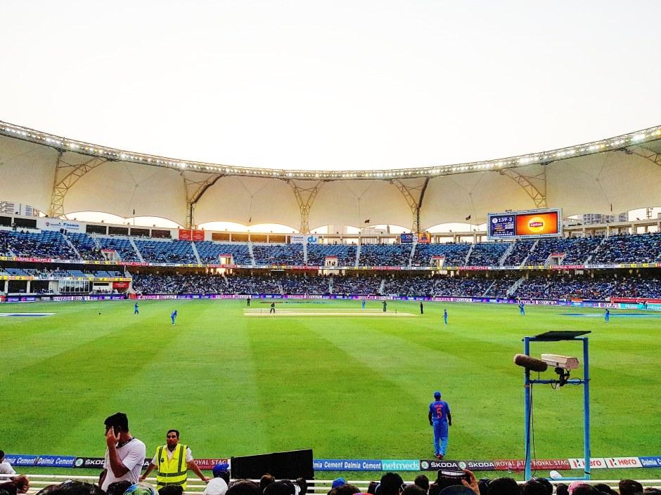 Visit to Dubai International Cricket Stadium - IndiaPak ODI Match