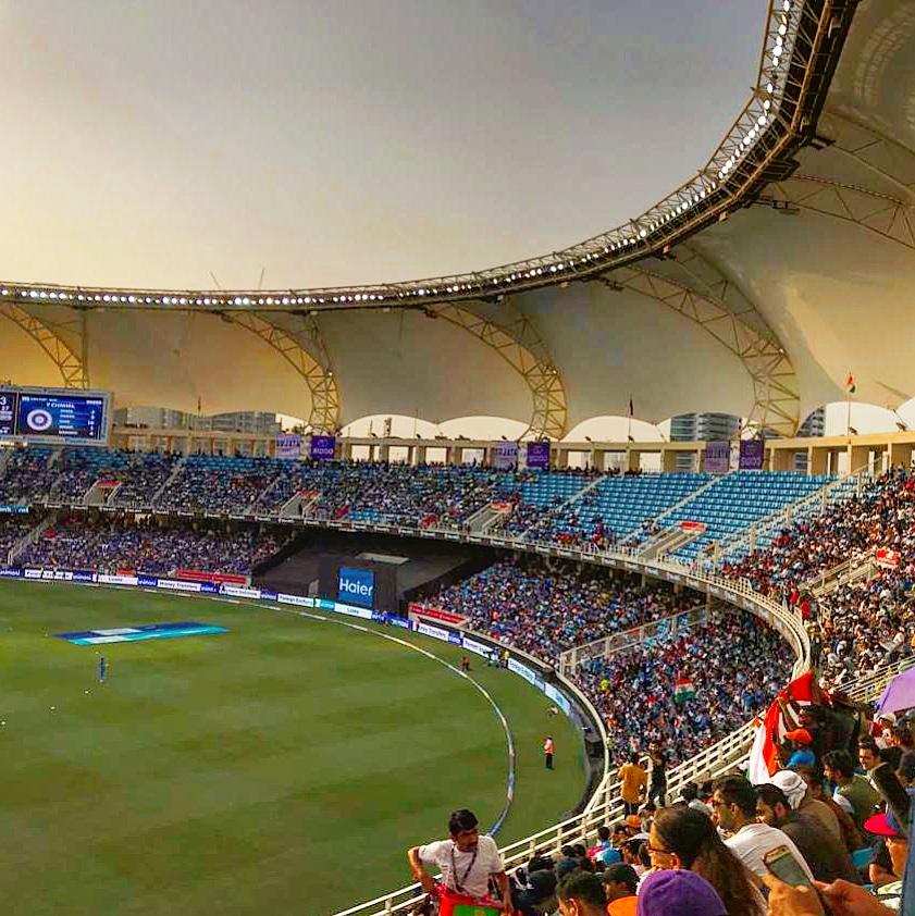 Visit Dubai International Cricket Stadium - IndiaPak ODI Match