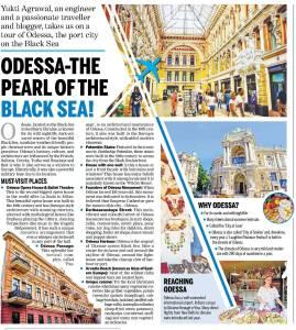 Travel article in Dainik Bhaskar