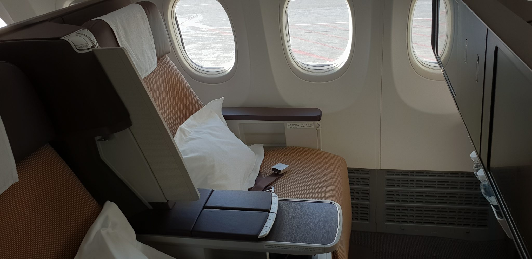 Emirates Business Class Blanket Sealed Not First Class Airlines