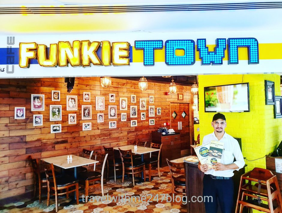 Vegetarian food at Cafe Funkie Town
