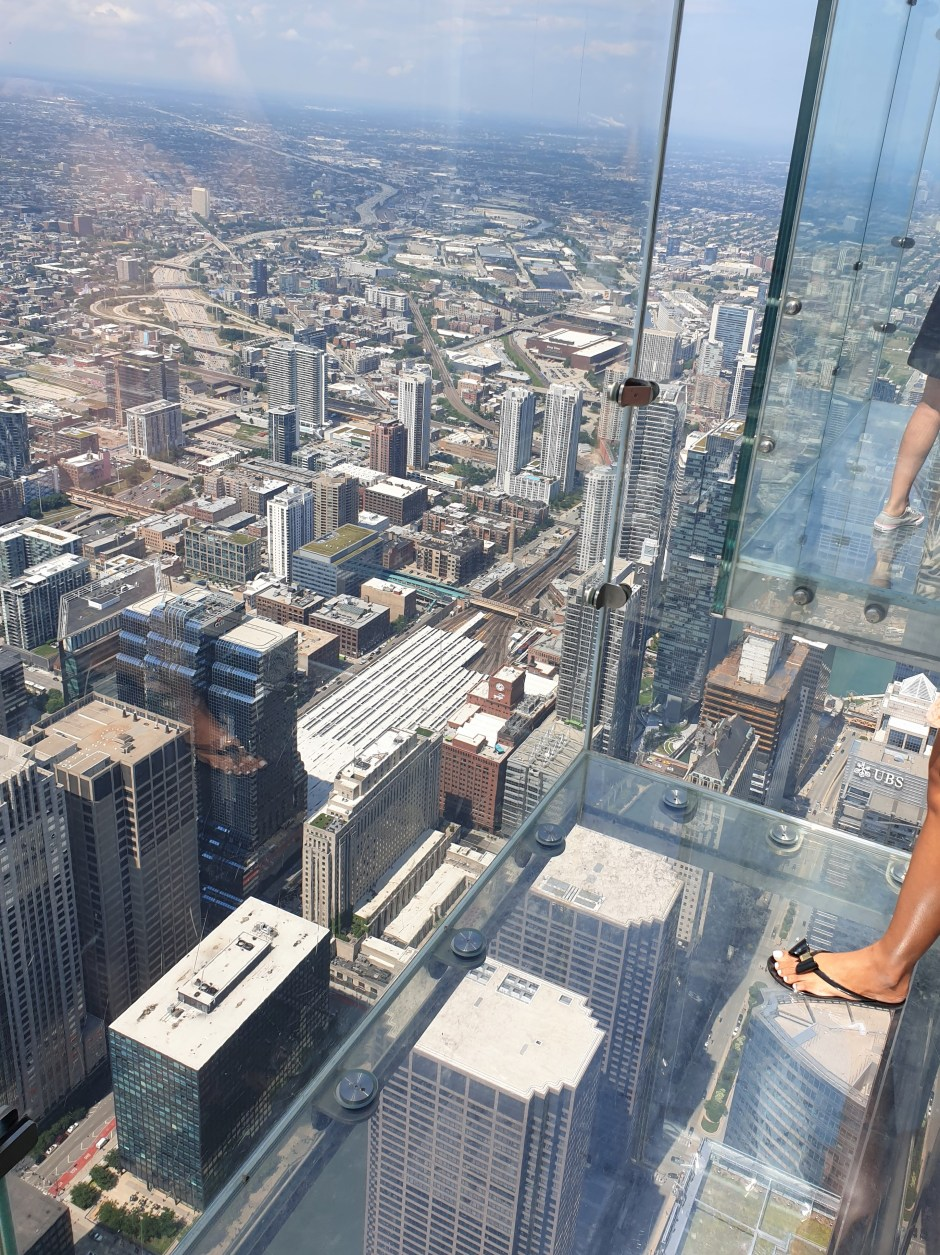 Willis Tower Ledge