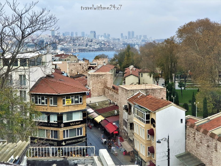 Things to do in Beautiful Istanbul - Sultanahmet view from top